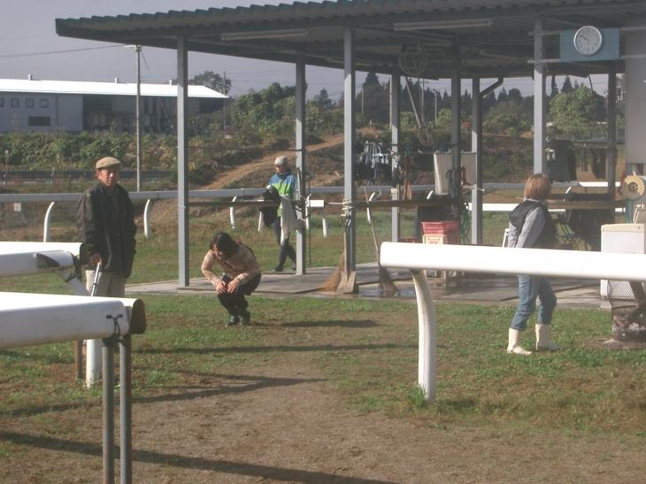 乗馬教室2014秋 第二日目 004