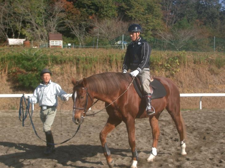 乗馬教室2014秋 第二日目 035