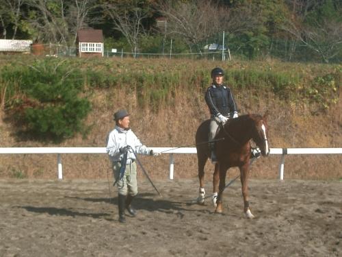 乗馬教室2014秋 第二日目 036