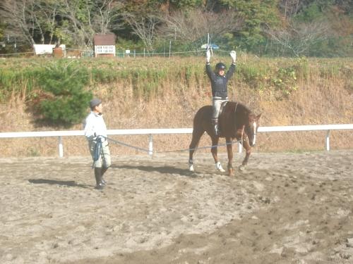乗馬教室2014秋 第二日目 043