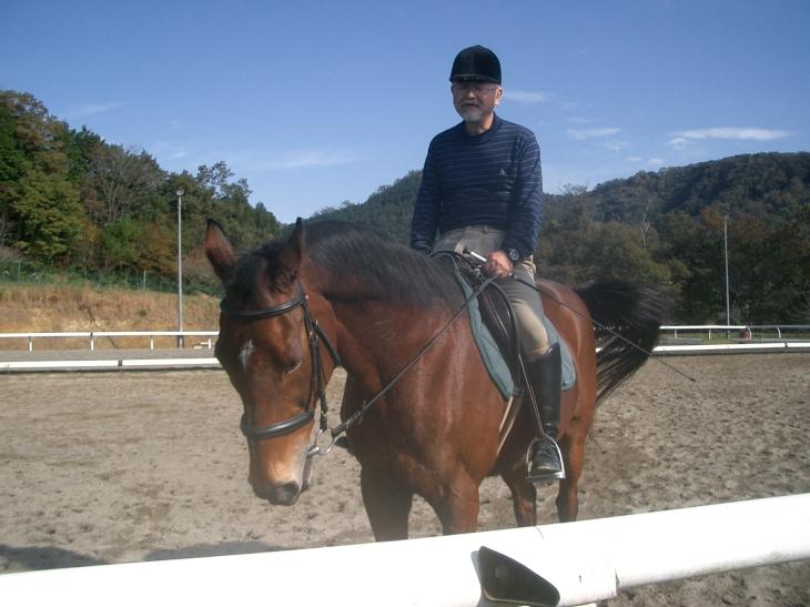 乗馬教室2014秋 第二日目 051