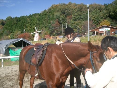 乗馬教室2014秋 第二日目 056