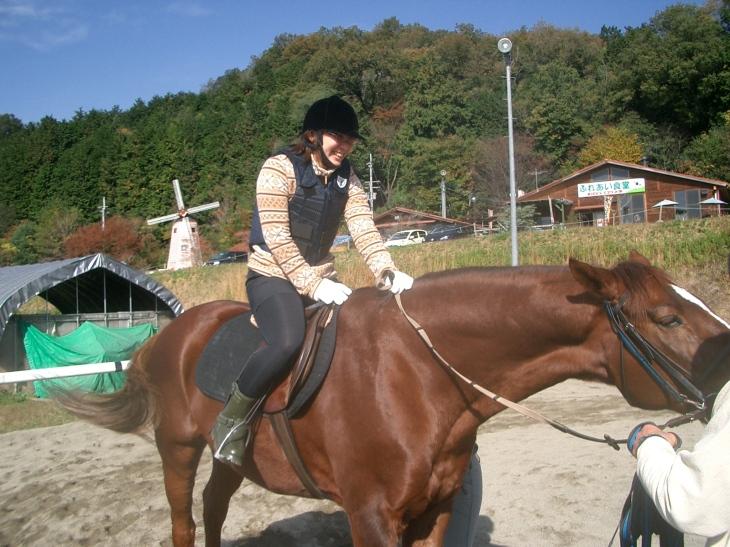 乗馬教室2014秋 第二日目 058