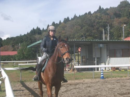 乗馬教室2014秋 第二日目 066