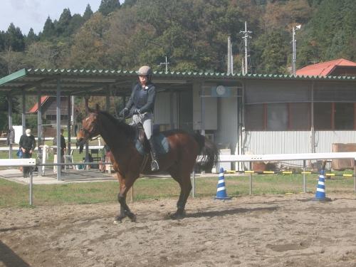 乗馬教室2014秋 第二日目 067